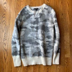 Banana Republic Army Print Sweater